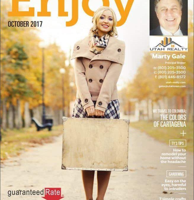October Issue of Enjoy Magazine