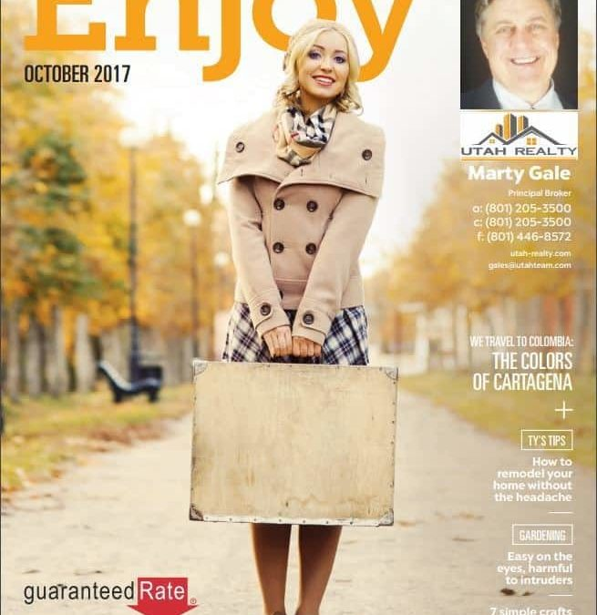 October Issue of Enjoy Magazine