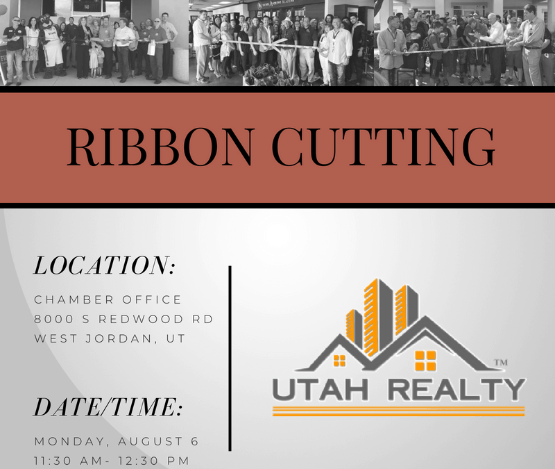 Ribbon Cutting Utah Realty