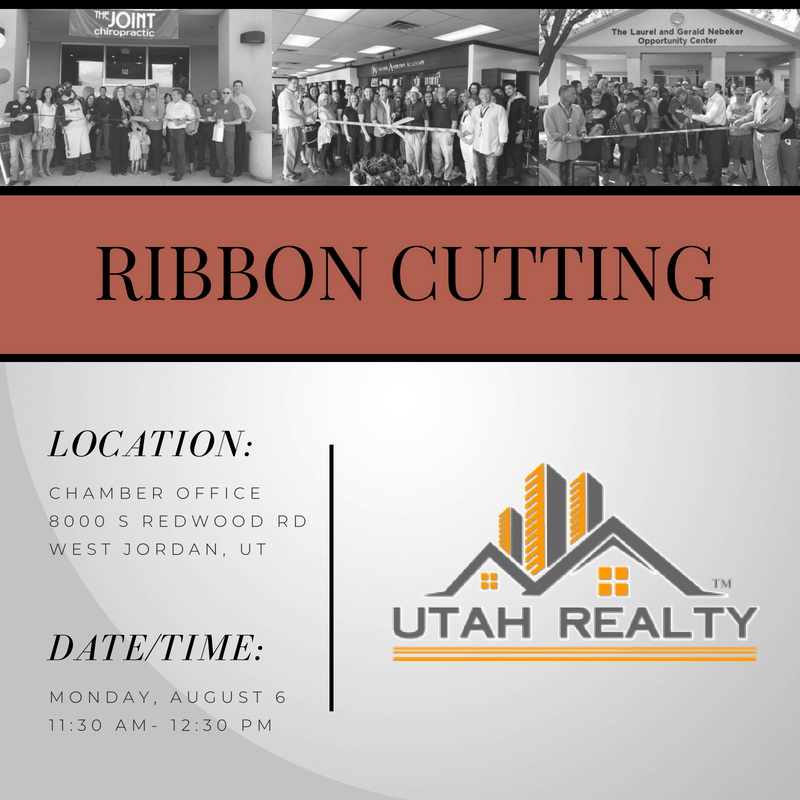 Ribbon Cutting Utah Realty
