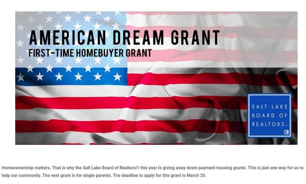 American Dream Grant